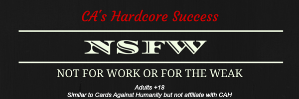 NSFW disclaimer